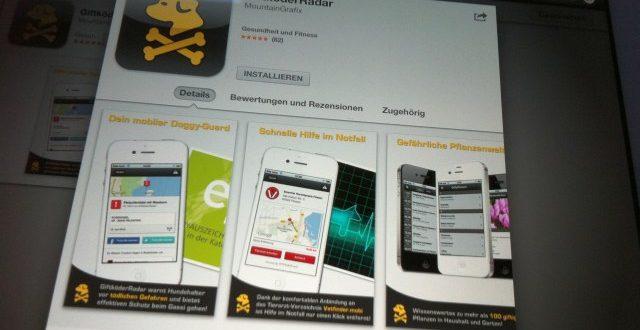 Smartphone Apps für Hunde