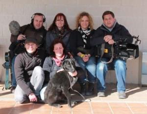 Tierschützer auf Gruppenfoto