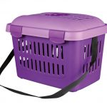 Transportbox für Nagetiere (Farbe: Lila)