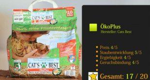 Cats Best Öko Plus Testsieger Katzenstreu