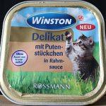 Winston Katzenfutter von Rossmann im Test