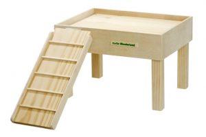 Ruheplatz aus Holz